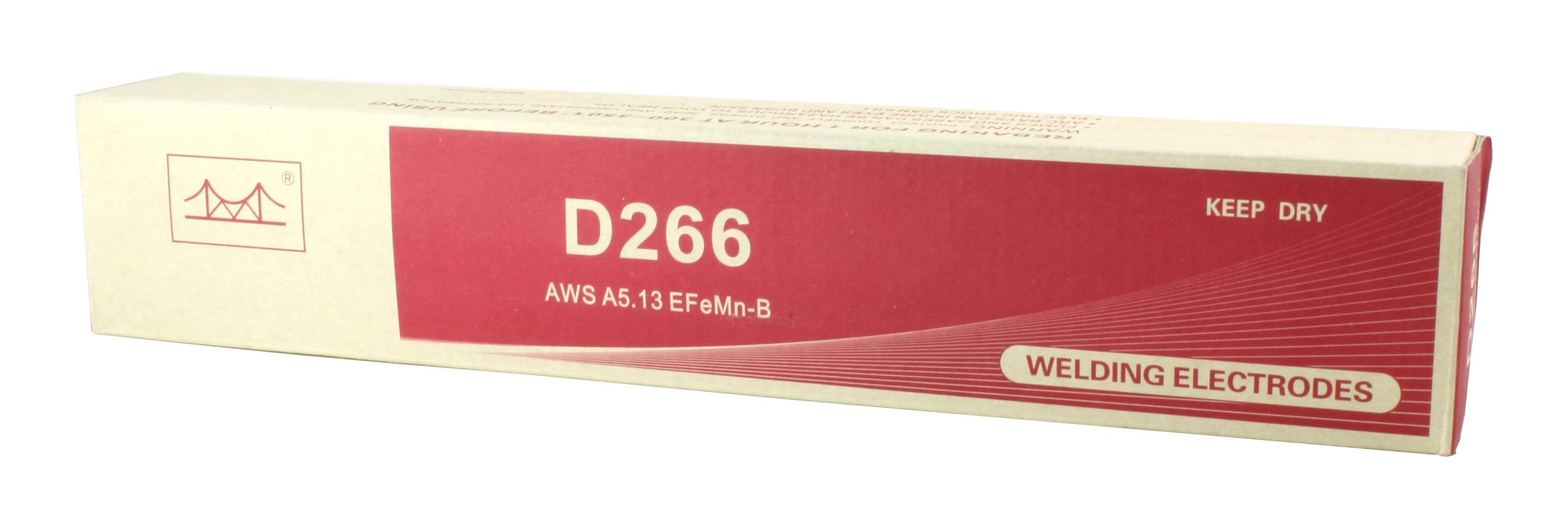 EFeMn-B AWS 5.13-14 x 1//8 - Hardfacing Low Hidrogen High Manganese Electrode 11 LBS D266