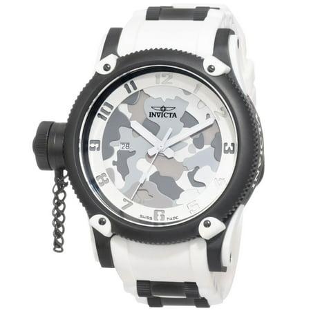 1195 Men's Swiss Made Limited Edition Quinotaur White Russian Diver Quartz (Best Russian Made Watches)