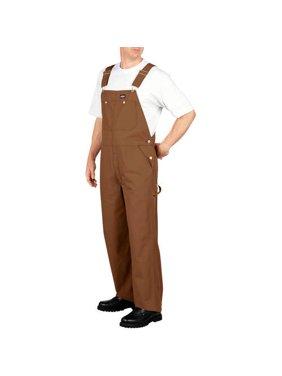 Genuine Men's 10 oz. 100% Cotton Duck Bib Overall