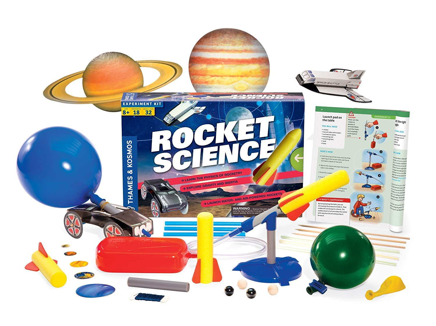 Science Kits For Kids, Thames And Kosmos Stomp On Rocket Experiment Science Kits by Thames & Kosmos