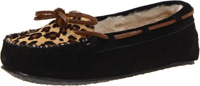 Minnetonka Women's Leopard Cally Slipper Moccasin by Minnetonka Moccasin Company, Inc.
