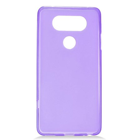 Insten Frosted Rubber TPU Case Cover For LG V20, Purple (Purples Shape Tpu Rubber)