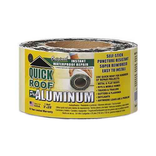 CoFair QR325 Roof Seal Tape, Aluminum, 3-In.  x 25-Ft.