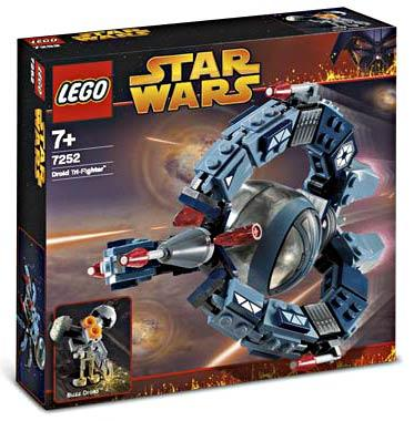 Star Wars Revenge of the Sith Droid Tri-Fighter Set LEGO 7252 (Lego Droid Tri Fighter)
