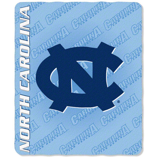 NCAA - North Carolina Tar Heels 50x60 Mark Series Fleece Throw