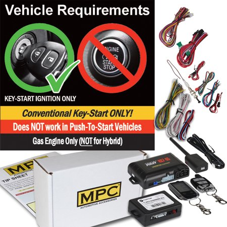 Ford Sport Trac Xlt (2 Way LCD Remote Start Keyless For 2006-2010 Ford Explorer Sport Trac W/Bypass )