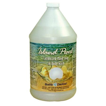 Island Pearl rich lotionized hand soap - 1 gallon (128