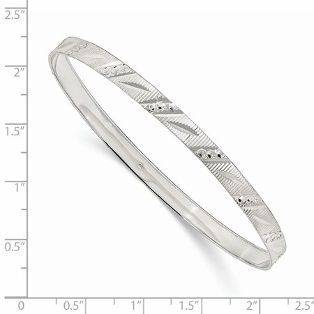 925 Sterling Silver Slip On Bangle Bracelet Cuff Expandable Stackable Fine Jewelry Gifts For Women For Her - image 1 of 6