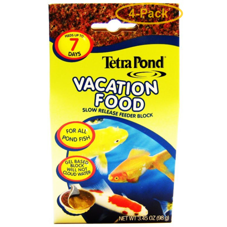 Tetra Pond Vacation Food - Slow Release Feeder Block 3.45 oz - Pack of