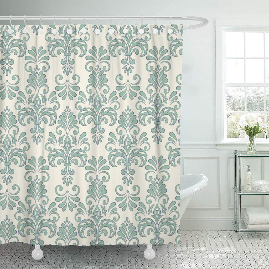 ksadk victorian design antique baroque curl curtains