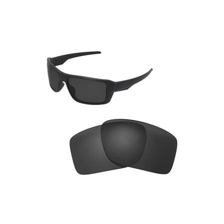 5776592b100a3 Walleva - Walleva Black Polarized Replacement Lenses for Oakley ...