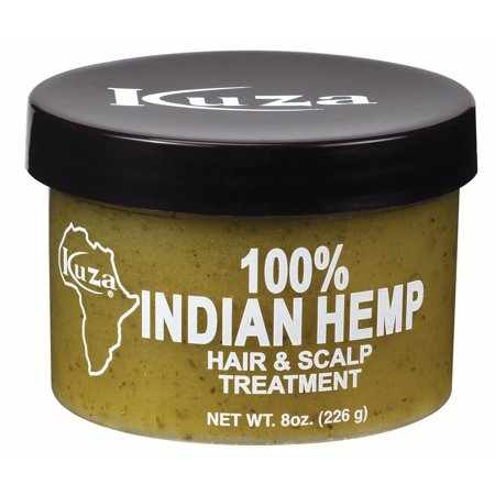 Kuza Indian Hemp Hair & Scalp Treatment, 8 Oz