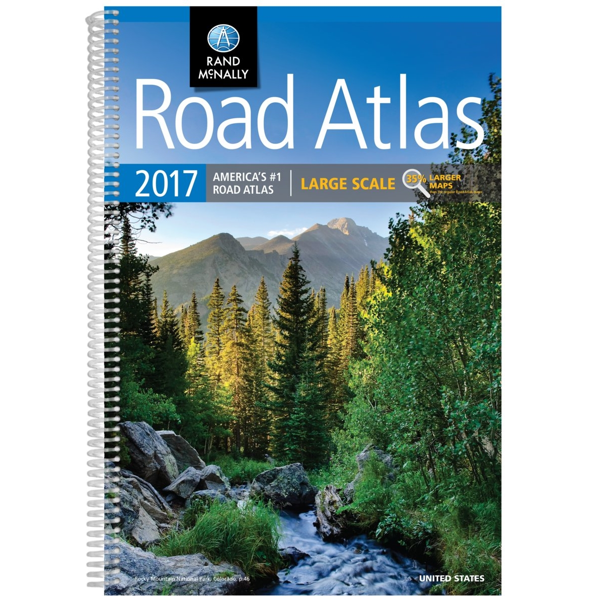 rand mcnally 2017 road atlas walmartcom