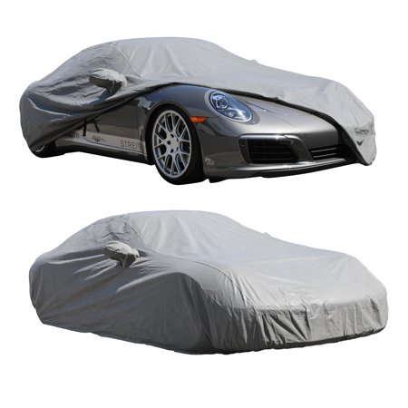 Custom Car Cover Breathable Gray for PORSCHE 996 SERIES 1997 1998 1999 2000 2001 2002 2003