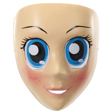 Blue Eyes Anime Adult Mask Halloween Accessory](This Is Halloween Anime)