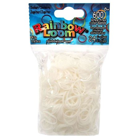 Rainbow Loom Solar UV Color Changing Jupiter Rubber Bands Refill Pack [600 ct]