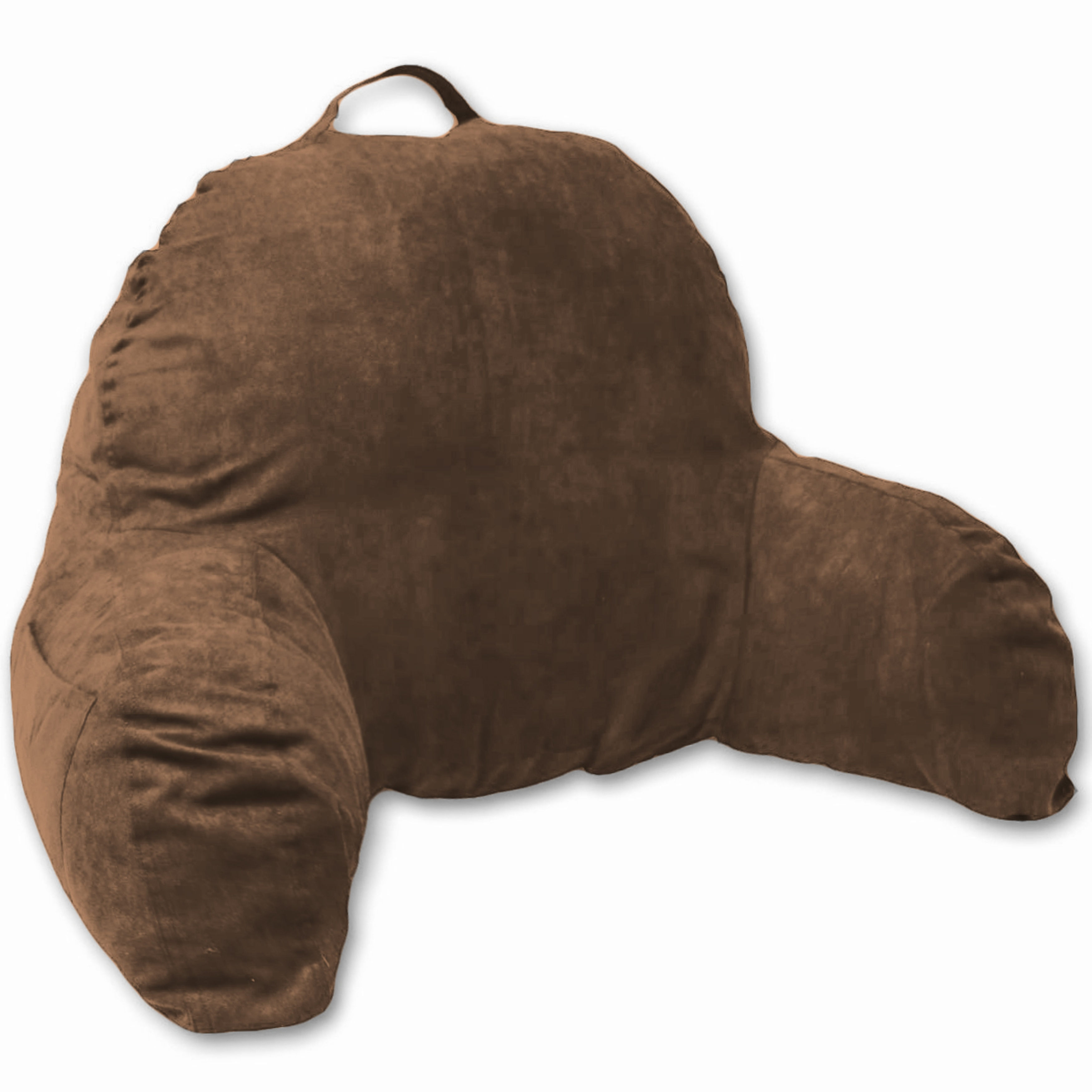 Deluxe Comfort Microsuede Backrest Pillow