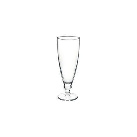 Bormioli Rocco Glass Pilsner Glass - Bormioli Rocco 4920Q111 Harmonia 13 Oz. Footed Pilsner Glass - 6 / CS