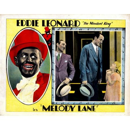 Melody Lanefrom Left Eddie Leonard George E Stone Leonard Jane La Verne 1929 Movie Poster Masterprint (Eddie George Framed Photo)