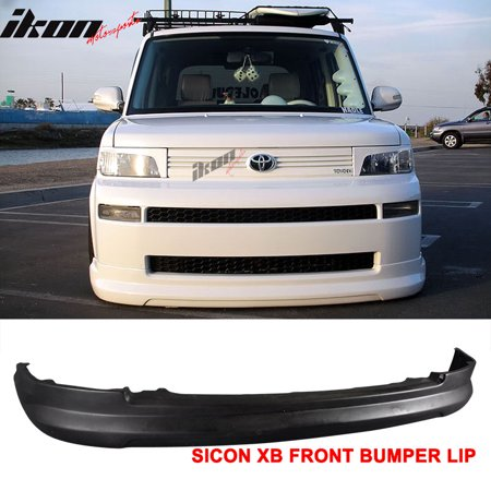 2006 Scion Xb Bumper - Compatible with 03-07 Scion xB Front Bumper Lip Diffuser Spoiler PU K-Style Body Kit