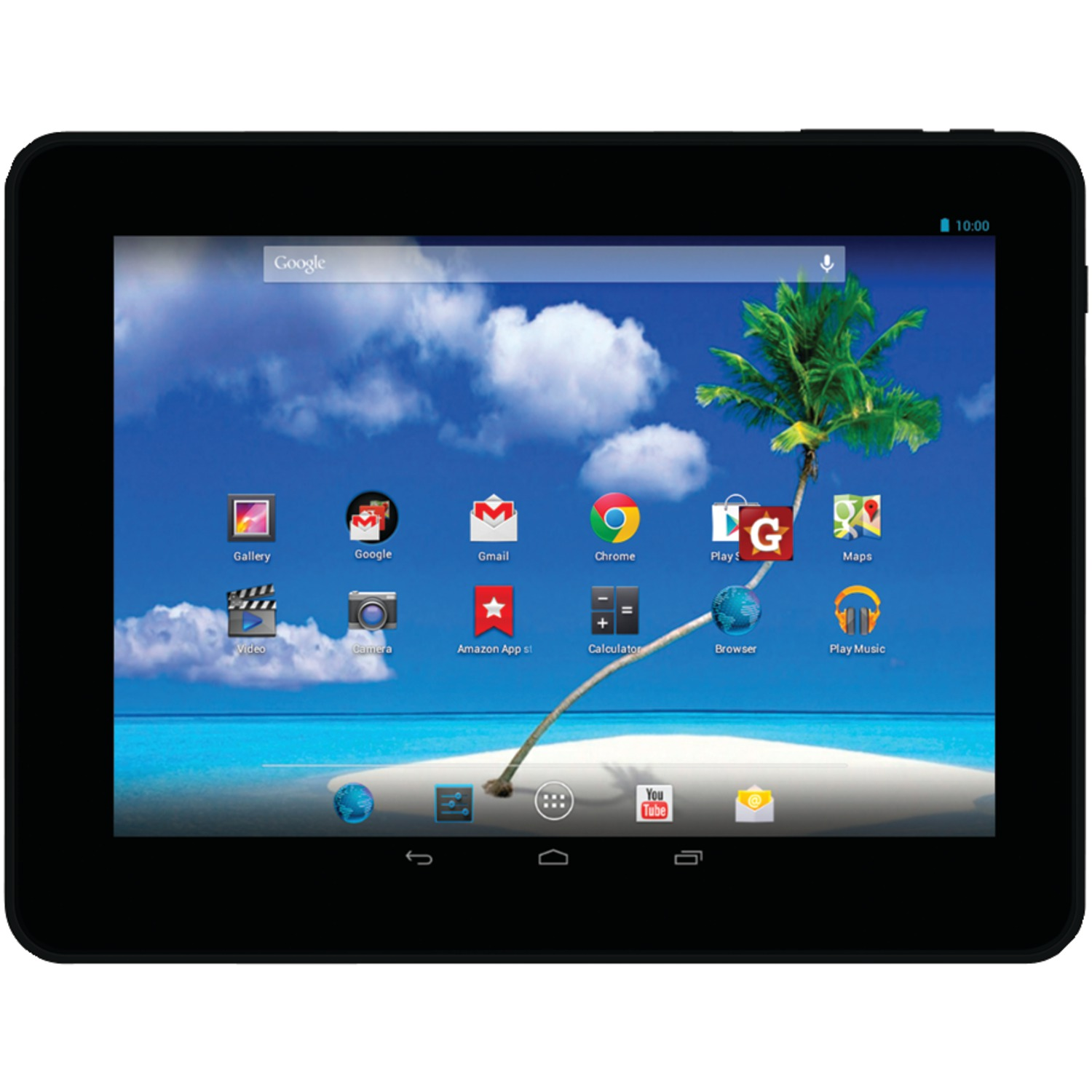 "Proscan PLT8802-8GB 8"" Android 4.2 Dual-Core Tablet"