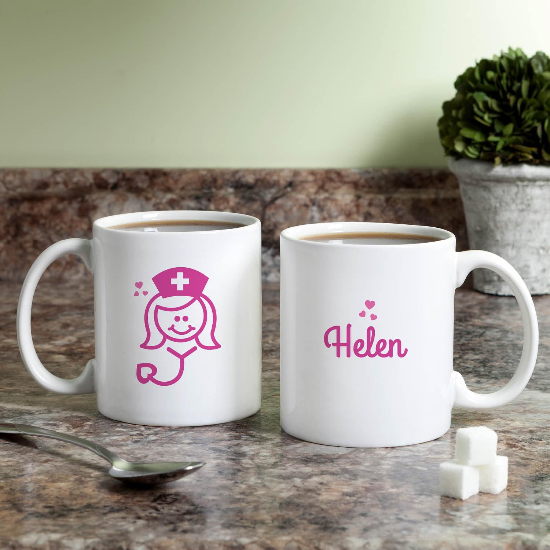 Personalized Coffee Mug - Nurse