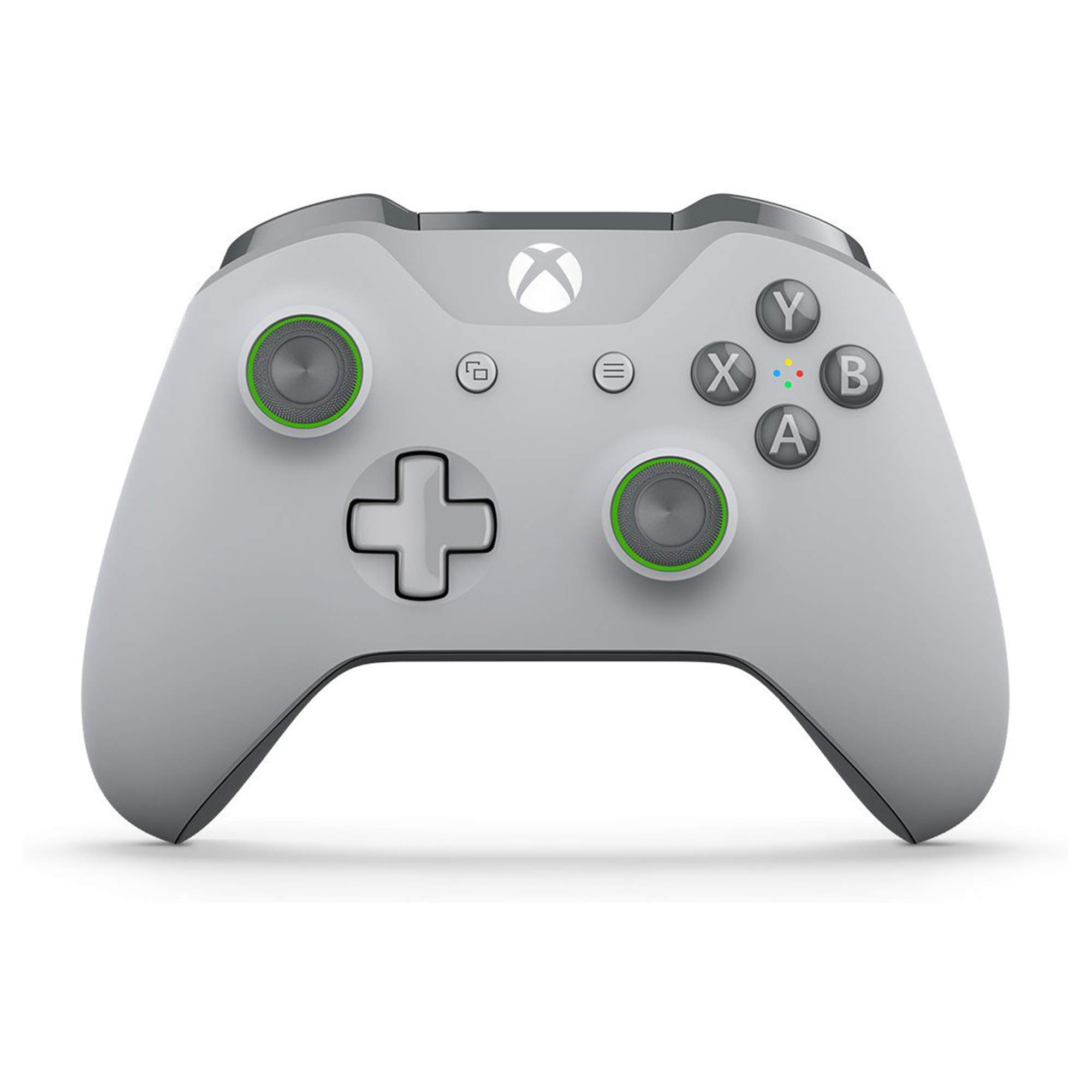 Microsoft Xbox One Bluetooth Wireless Controller, Grey and Green ...