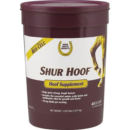 Farnam Co Horse Health-Shur Hoof Supplement 2.8 Pound