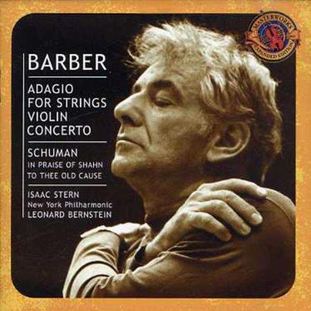 Leonard Bernstein - Barber: Adagio for Strings; Violin Concerto [CD]