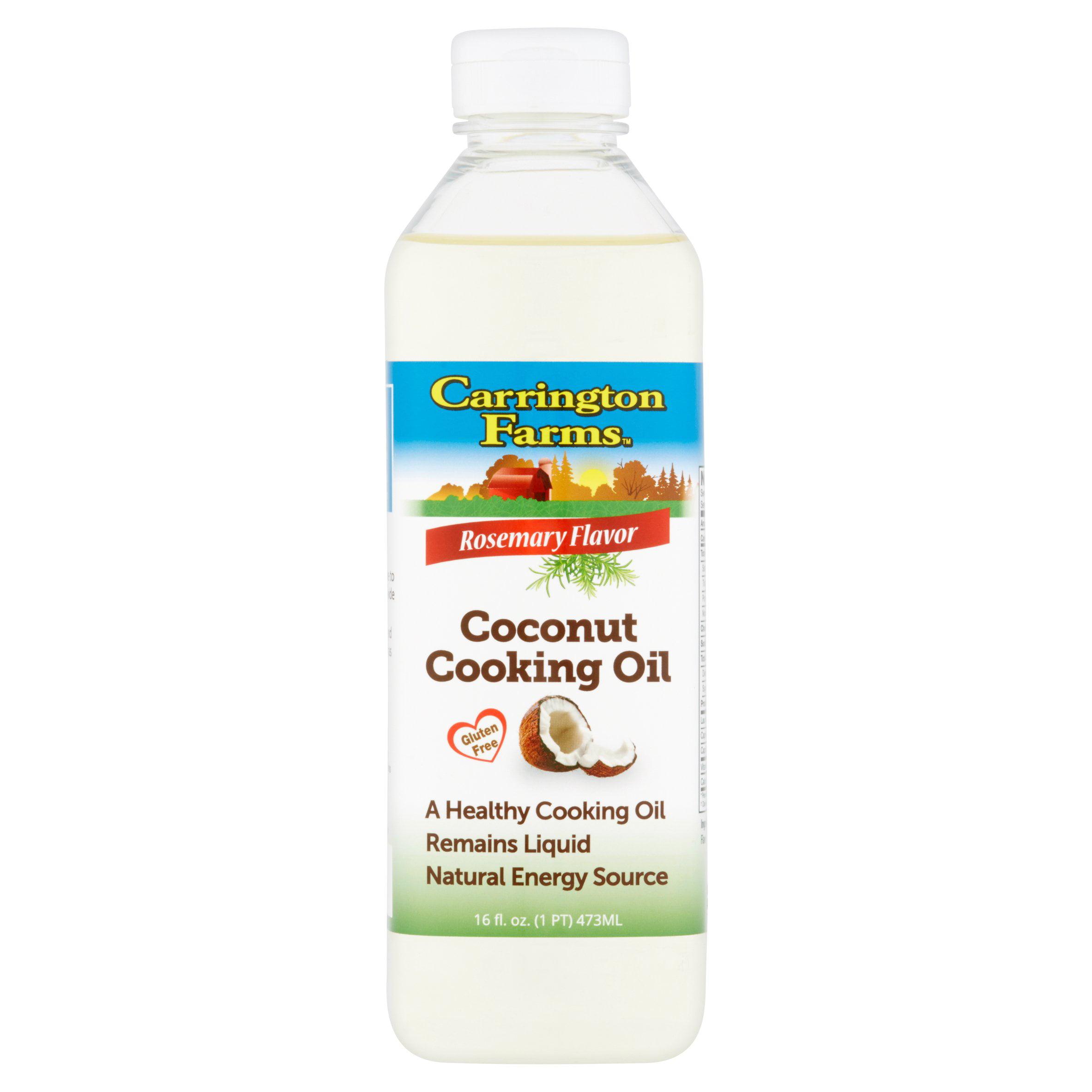 Carrington Farms Rosemary Flavor Coconut Cooking Oil 16fl.oz by Carrington Farms
