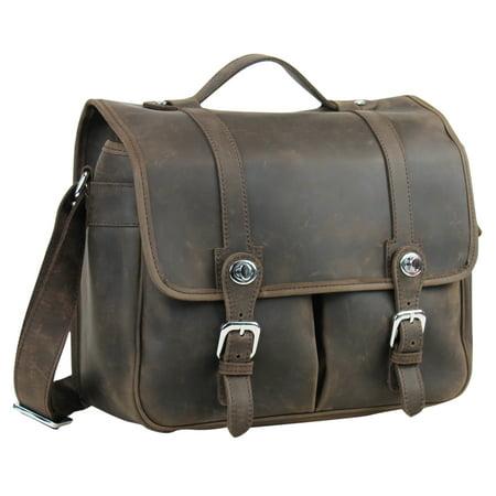 Traveller Camera (Vagarant Traveler Full Grain Cowhide Leather Medium Camera Bag LH36.DS )