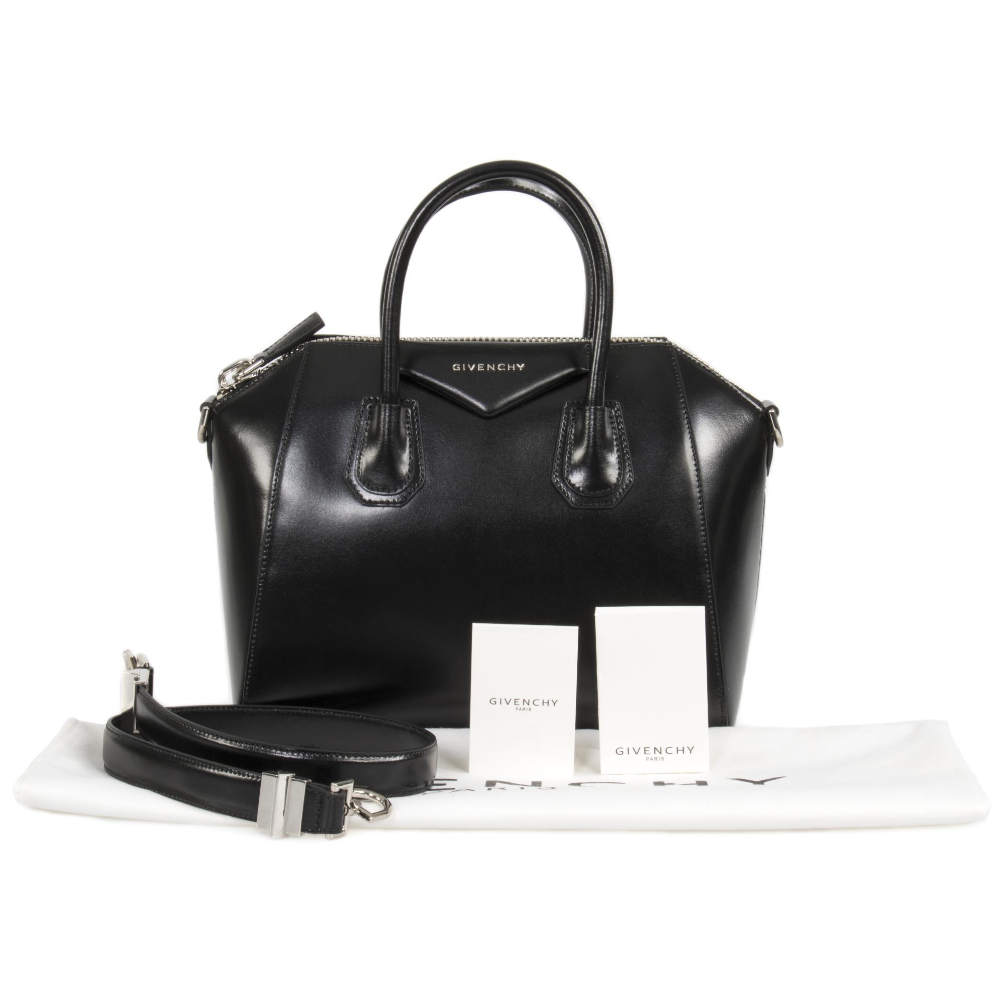 be07091097804 Givenchy - Givenchy Antigona Calfskin Leather Satchel Bag
