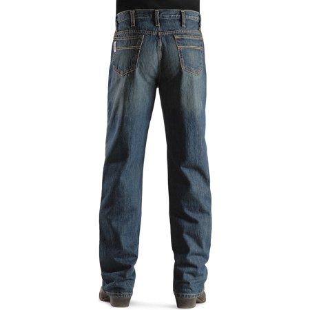 32fee790e4a Cinch Mens White Label Relaxed Fit Straight Leg Jean - Dark Stonewash -  Walmart.com