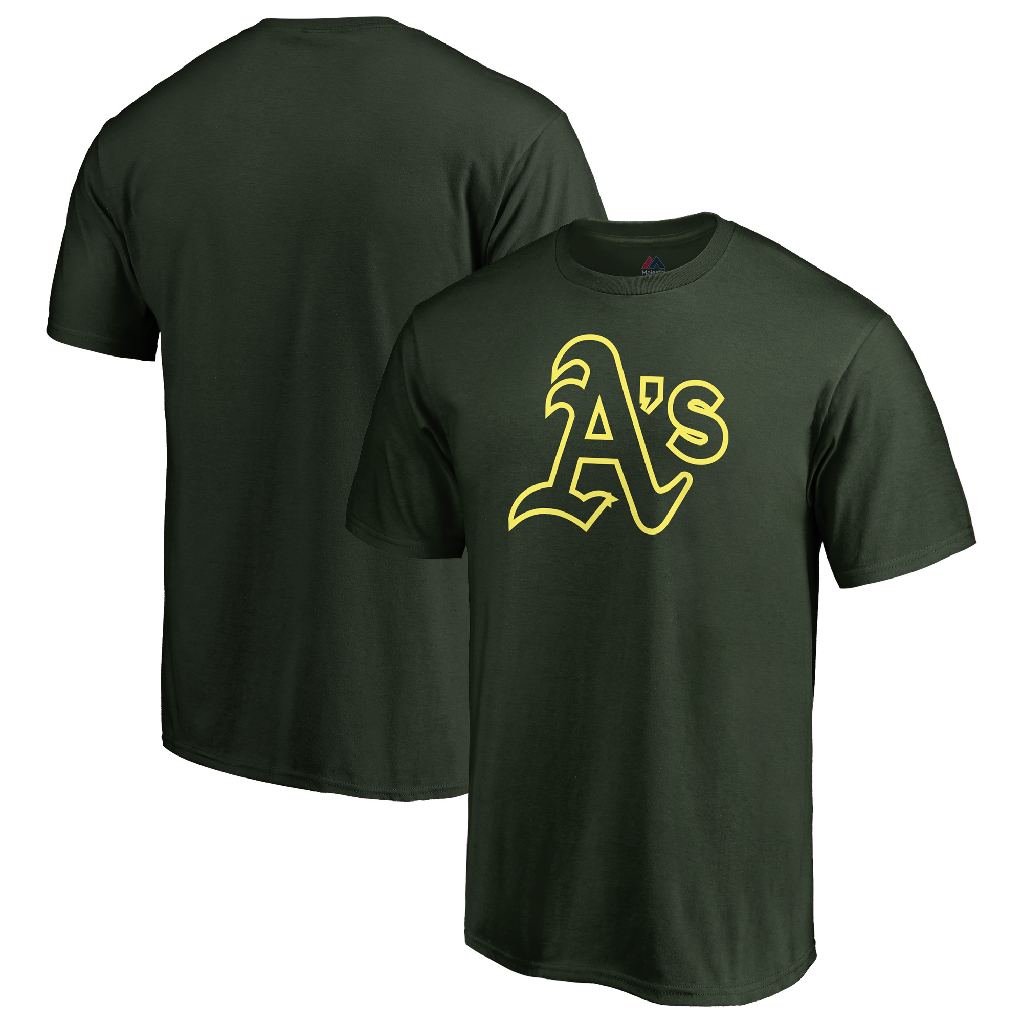 Oakland Athletics Majestic 2018 Players' Weekend T-Shirt - Green