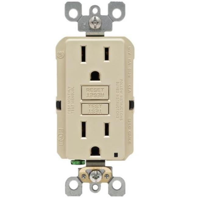 15 Amp Ivory Smartlock Pro Self-Test GFCI - image 1 of 1