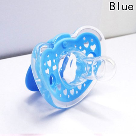 KABOER Newborn Orthodontic Dummy Pacifier Silicone Teat Nipple Soothers Best Novelty Newborn Soothie Soother