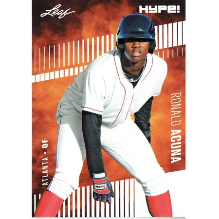 Ronald Acuna Jr. 2018 Leaf HYPE! Baseball Rookie 25 Card Lot Atlanta Braves #1
