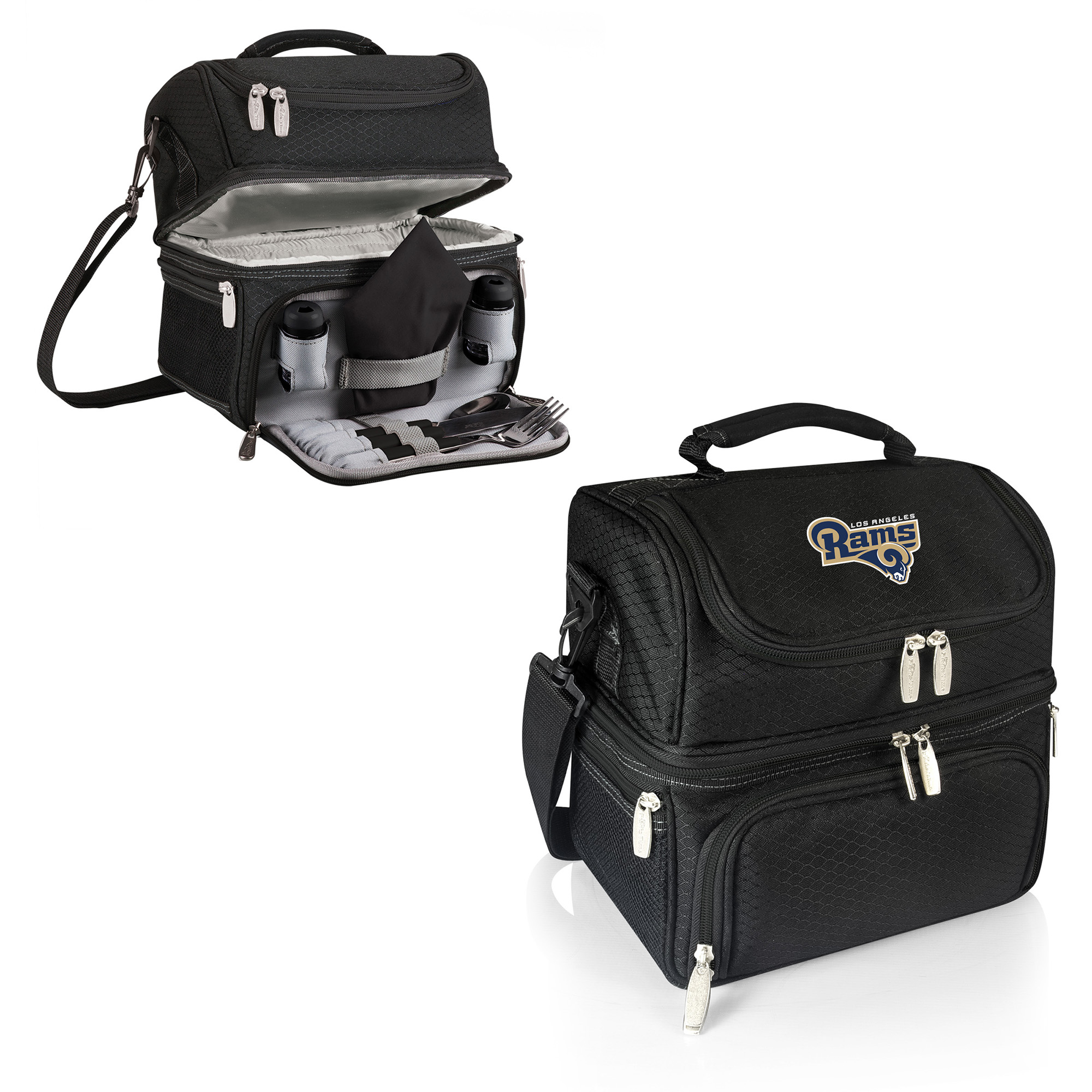 Los Angeles Rams Pranzo Lunch Tote - Black - No Size