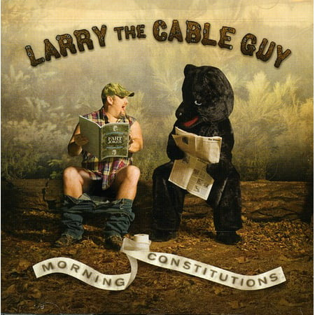 Larry The Cable Guy - Morning Constitutions (U.S Versions) (CD)