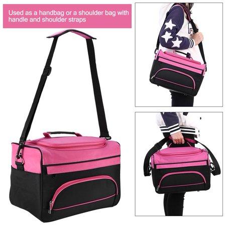 Cergrey Salon Handbag Hairdressing Tools Bag Portable Scissors Comb Holder Bag Hairstyling Travel Case, Portable Salon Handbag, Hairdressing Tools Bag - image 2 of 12