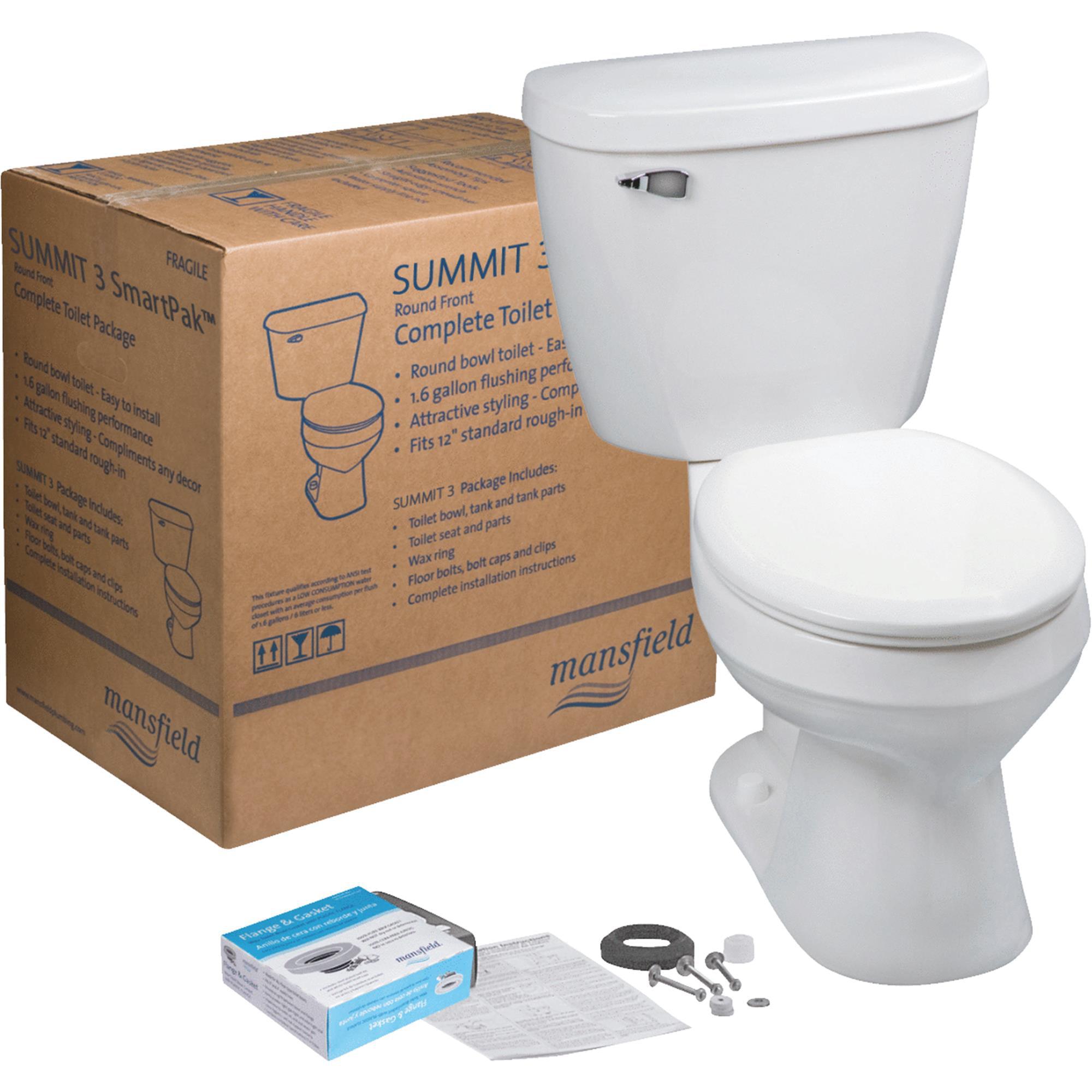 Mansfield Summit SmarkPak Complete Toilet