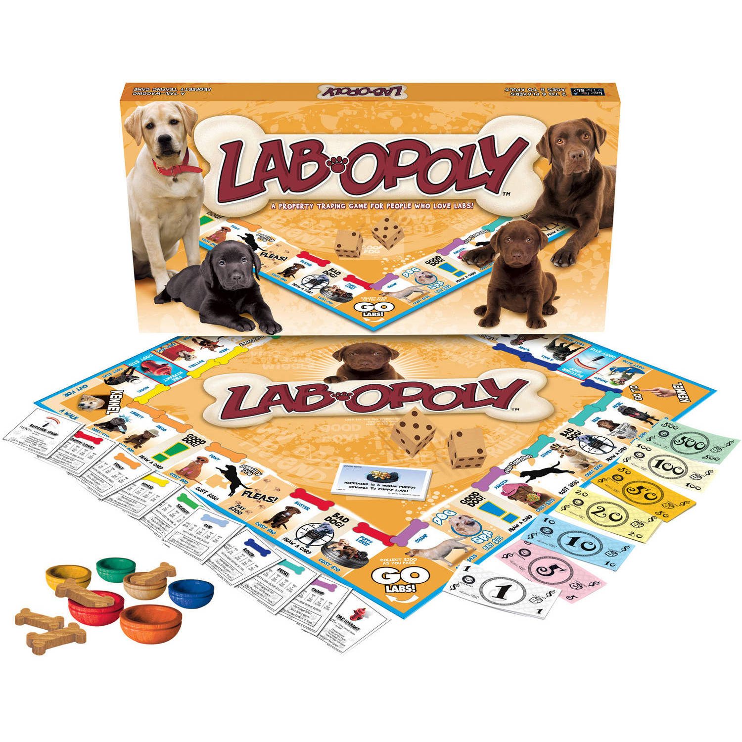 Late for the Sky Lab-opoly Game