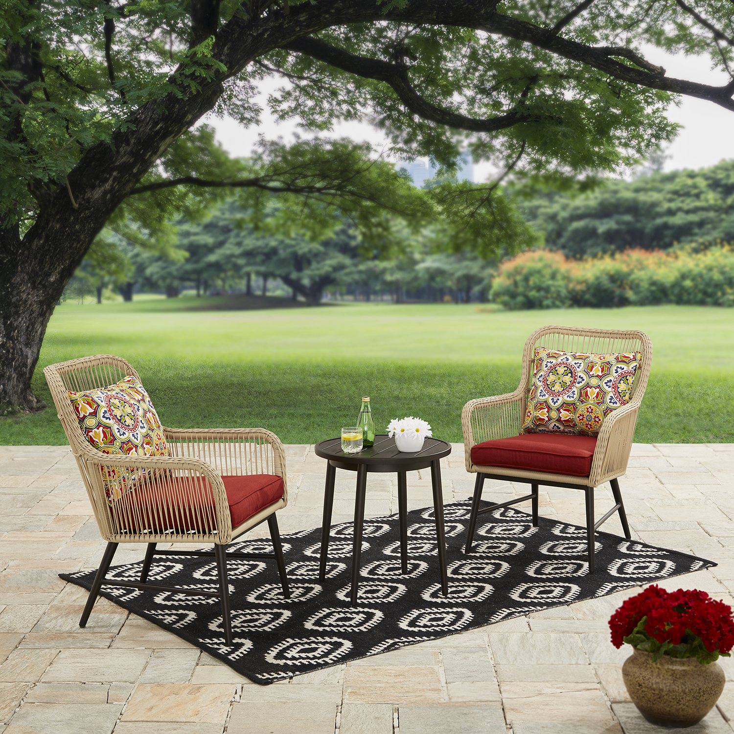 Better Homes and Gardens Rawls Dunes 3 Piece Conversation Set