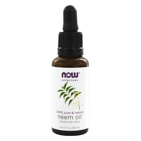 NOW Foods - Neem Oil (Azadirachta Indica) - 1 - Neem Leaf Oil