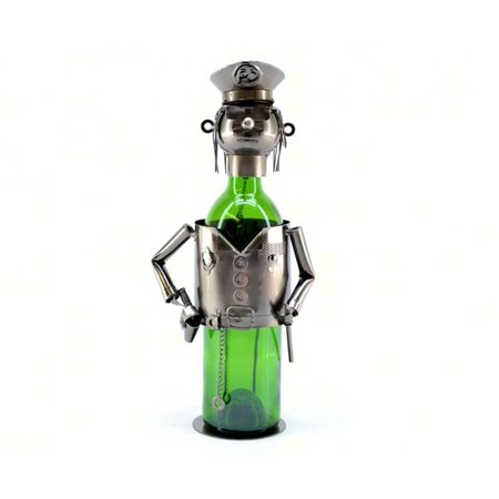 Three Star THREEZB170 Policeman Wine Bottle Holder