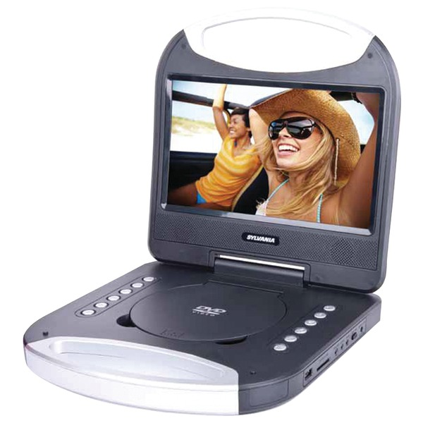 "SYLVANIA SDVD1052-BLACK 10"" Portable DVD Player with Integrated Handle (Black)"