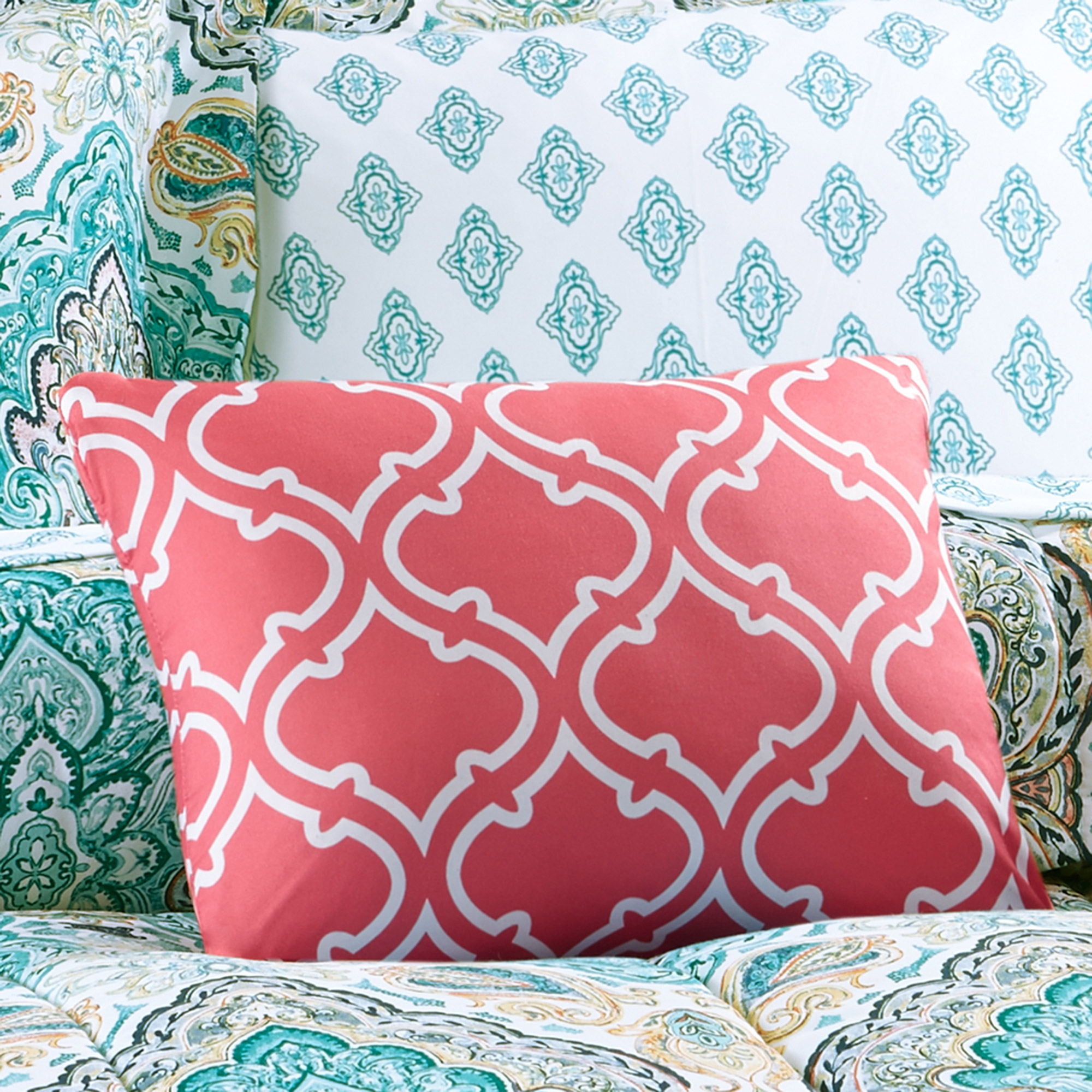 Mainstays Monique Paisley Coordinated Bedding Set Walmartcom