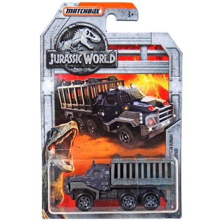Jurassic World Matchbox Armored Action Transporter Diecast Vehicle