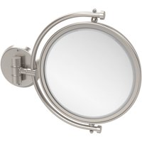 """8"""" Wall-Mounted Make-Up Mirror, 3x Magnification (Build to Order)"""