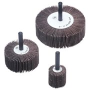 Flap Wheels, 3 in x 1 in, 120 Grit, 20,000 rpm